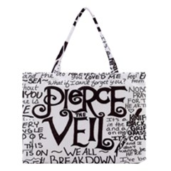 Pierce The Veil Medium Tote Bag by Samandel