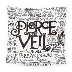 Pierce The Veil Square Tapestry (large)