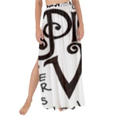 Pierce The Veil Maxi Chiffon Tie Up Sarong