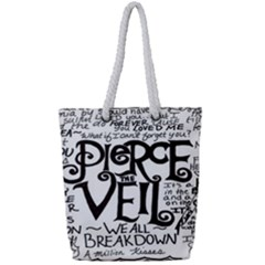 Pierce The Veil Full Print Rope Handle Tote (small) by Samandel