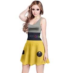 Game Boy Color Yellow Reversible Sleeveless Dress