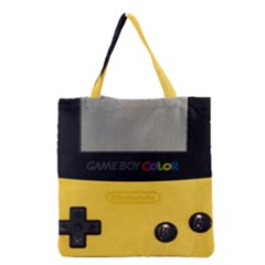 Game Boy Color Yellow Grocery Tote Bag