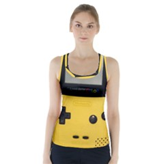 Game Boy Color Yellow Racer Back Sports Top