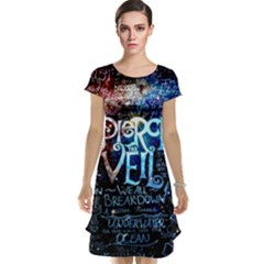 Pierce The Veil Quote Galaxy Nebula Cap Sleeve Nightdress