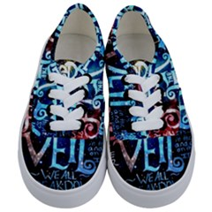 Pierce The Veil Quote Galaxy Nebula Kids  Classic Low Top Sneakers