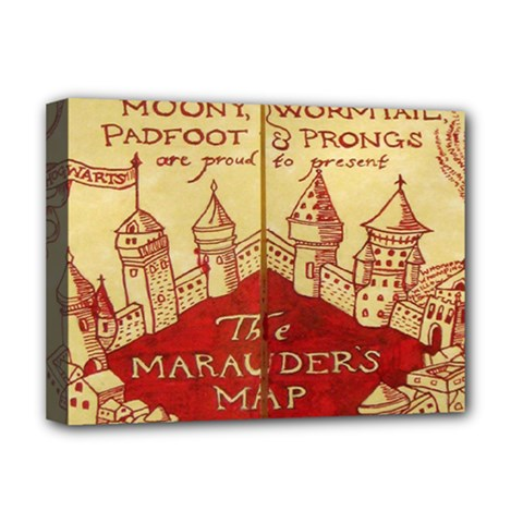 Marauders Map Deluxe Canvas 16  X 12