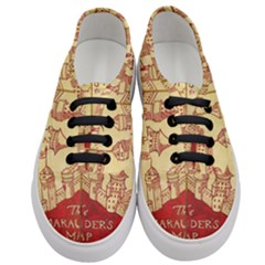 Marauders Map Women s Classic Low Top Sneakers