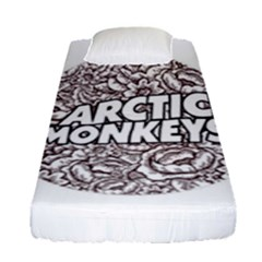 Artic Monkeys Flower Circle Fitted Sheet (single Size) by Samandel
