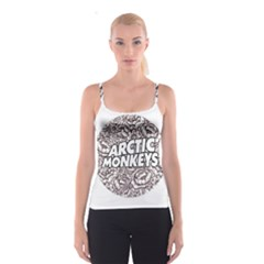 Arctic Monkeys Flower Circle Spaghetti Strap Top
