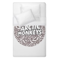 Arctic Monkeys Flower Circle Duvet Cover (single Size) by Samandel