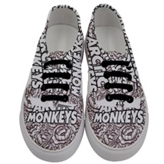 Arctic Monkeys Flower Circle Men s Classic Low Top Sneakers