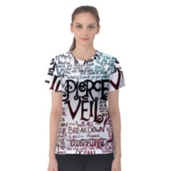 Pierce The Veil Galaxy Women s Sport Mesh Tee