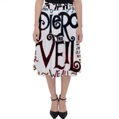 Pierce The Veil Galaxy Folding Skater Skirt