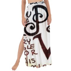Pierce The Veil Galaxy Maxi Chiffon Tie Up Sarong