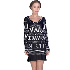 Avada Kedavra Bitch Long Sleeve Nightdress