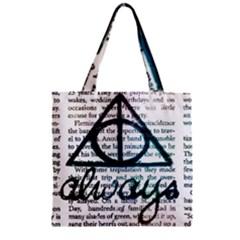 Always Zipper Grocery Tote Bag