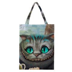Cheshire Cat Classic Tote Bag