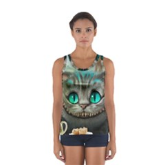 Cheshire Cat Sport Tank Top