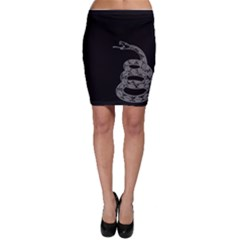 Gadsden Flag Don t Tread On Me Bodycon Skirt by MAGA