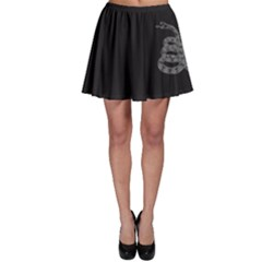 Gadsden Flag Don t Tread On Me Skater Skirt by MAGA