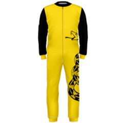Gadsden Flag Don t Tread On Me Onepiece Jumpsuit (men)  by MAGA