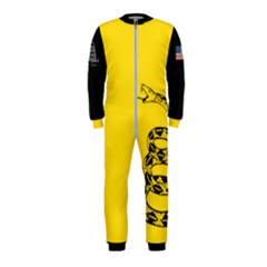 Gadsden Flag Don t Tread On Me Onepiece Jumpsuit (kids) by MAGA
