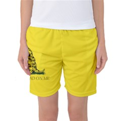 Gadsden Flag Don t Tread On Me Women s Basketball Shorts by MAGA