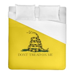 Gadsden Flag Don t Tread On Me Duvet Cover (full/ Double Size) by MAGA