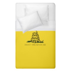 Gadsden Flag Don t Tread On Me Duvet Cover (single Size) by MAGA