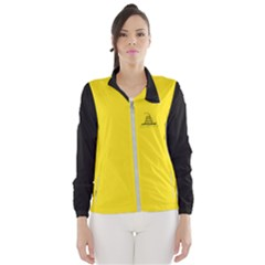 Gadsden Flag Don t Tread On Me Wind Breaker (women) by MAGA