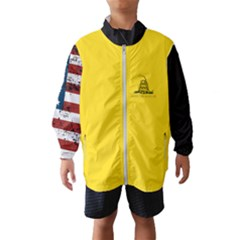 Gadsden Flag Don t Tread On Me Wind Breaker (kids) by MAGA