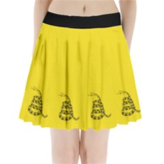 Gadsden Flag Don t Tread On Me Pleated Mini Skirt by MAGA
