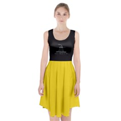Gadsden Flag Don t Tread On Me Racerback Midi Dress by MAGA