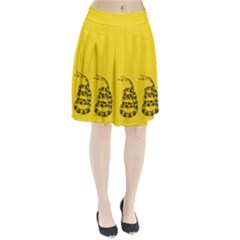Gadsden Flag Don t Tread On Me Pleated Skirt by MAGA