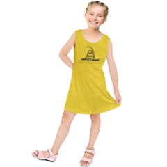 Gadsden Flag Don t Tread On Me Kids  Tunic Dress by MAGA