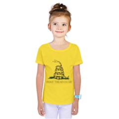 Gadsden Flag Don t Tread On Me Kids  One Piece Tee