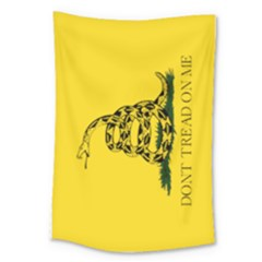 Gadsden Flag Don t Tread On Me Large Tapestry by MAGA