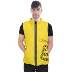 Gadsden Flag Don t Tread On Me Men s Puffer Vest by MAGA