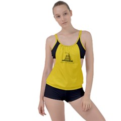 Gadsden Flag Don t Tread On Me Boyleg Tankini Set  by MAGA