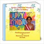 betties birthday - 8x8 Photo Book (20 pages)