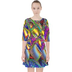 Abstract Digital Art Pocket Dress