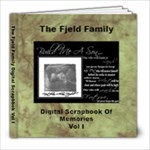 The Fjeld Family Digital Scrapbook Vol I - 8x8 Photo Book (20 pages)