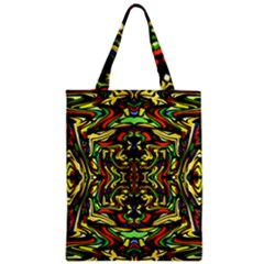 Artwork By Patrick Colorful 19 Zipper Classic Tote Bag