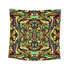 Artwork By Patrick Colorful 19 Square Tapestry (small)