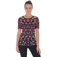 Artwork By Patrick Colorful 24 1 Short Sleeve Top