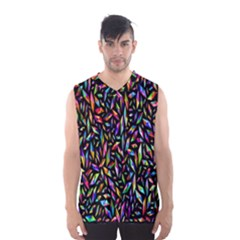 Colorful 25 Men s Basketball Tank Top