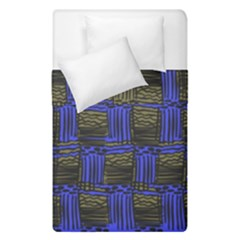 Basket Weave Duvet Cover Double Side (single Size) by Sapixe