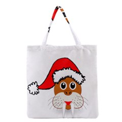 Child Of Artemis Christmas Animal Clipart Grocery Tote Bag by Sapixe