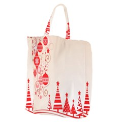 Christmas Clipart Wallpaper Giant Grocery Zipper Tote