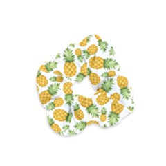 Pineapple Pattern Velvet Scrunchie by goljakoff